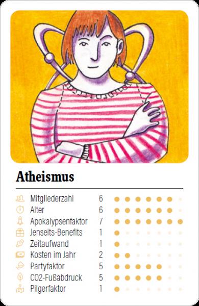 Spielkarte Atheismus