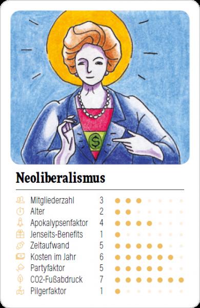 Spielkarte Neoliberalismus