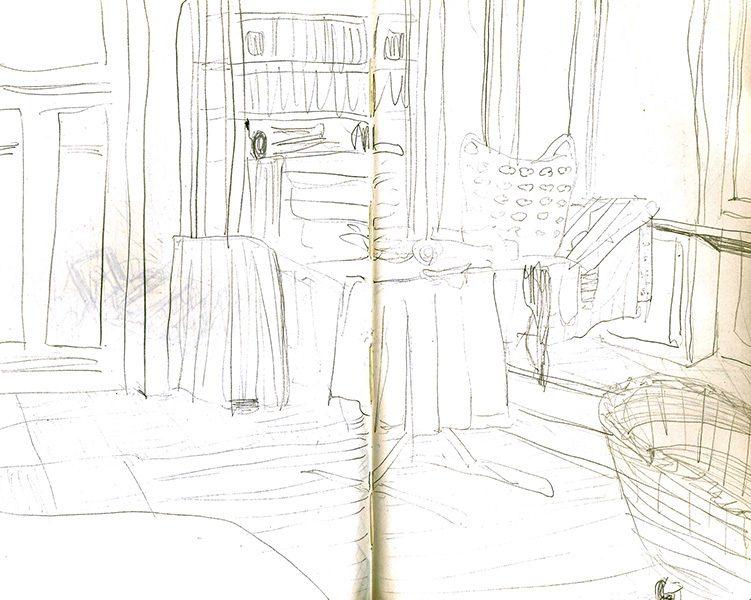 Alltag #2-Wohnzimmer